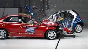 Mercedes La Teste : crash tests show how vehicle size weight affect safety ~ Maxctalentgroup.com Avis de Voitures