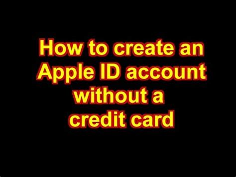 If you have an existing apple id, this article need not apply to you. How to create an iTunes Store / Apple ID Account without a ...