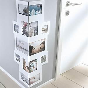 Bilderrahmen Für Collage : bilderrahmen collage f r ecken f r 14 fotos mdf holz ~ Watch28wear.com Haus und Dekorationen