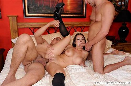One Lucky Dude Pounding Porn With Gangbang Naughty Housewives #Holly #West #Into #Kinky #Threesome #3071