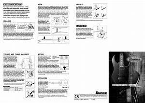 Download Free Pdf For Ibanez Sr Series Sr505 Guitar Manual