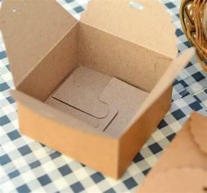 Petite Boite En Carton : kraft petite boite d co boites sachets boites cadeaux la paqueterie ~ Teatrodelosmanantiales.com Idées de Décoration