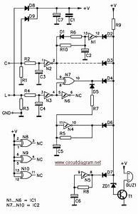 Car Headlight Alarm Circuit Schematic With Explanation