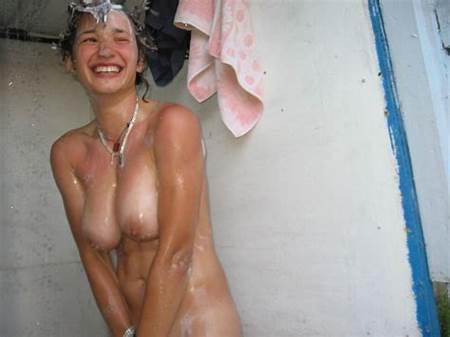 Embarrased Nude Teen