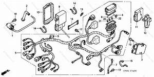 Honda Atv 2003 Oem Parts Diagram For Wire Harness