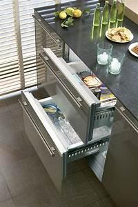 Refrigerateur Sous Plan De Travail : tiroirs r frig rateur cong lateur sous plan6 projet cuisine pinterest frigo tiroir et ~ Farleysfitness.com Idées de Décoration