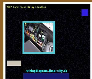 2002 Ford Focus Relay Location  Wiring Diagram 18591