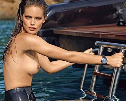 Emily Didonato Lui Naked Topless Pool Hottest