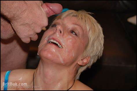 Cumshot Mouthed Older Brit