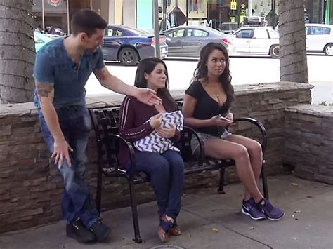 Breastfeeding In Public Sexy Cleavage Social Experiment