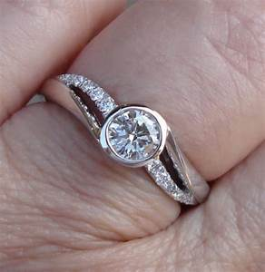 24 best jewellery semi half bezel rings images on for Orthodox wedding rings for sale