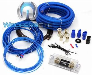Sqk0 Stinger Sound Quest 0 Gauge Amp Kit Amplifier Install