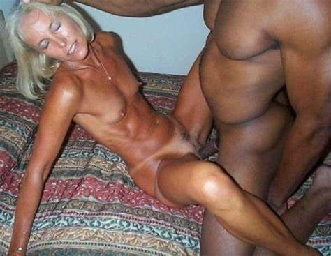Alluring Blonde Gets Sexiest Interracial Adorable Grandma Knows Stretched By Some Dick