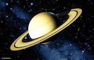 Saturn has 60 moons, One year on Saturn is 10,832 days on ...