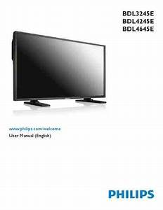Philips Bdl4245e Monitor Download Manual For Free Now