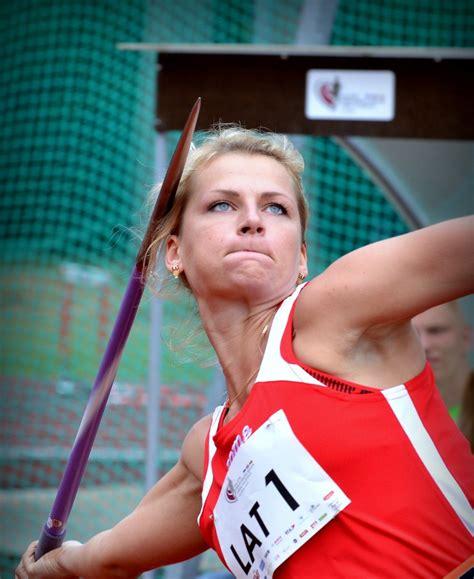 Šķēpmetēja Palameika Valmierā izpilda pasaules čempionāta A normatīvu - Vieglatlētika ...
