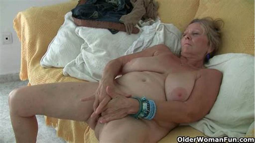 #British #Granny #Isabel #Has #Big #Tits #And #A #Fuckable #Fanny
