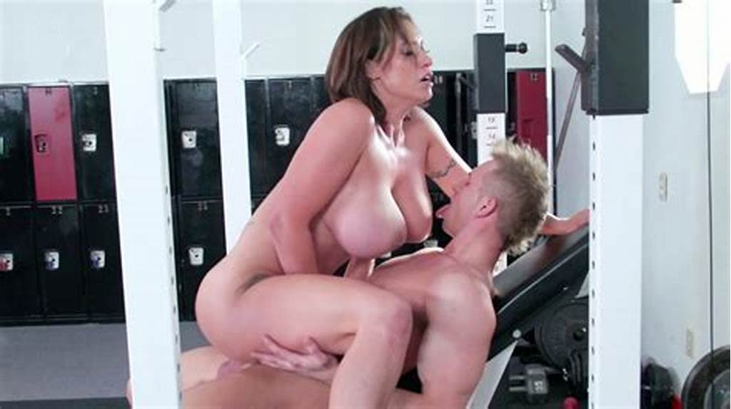 #Fitness #Instructor #Nestles #Between #Overflowing #Tits #Movie