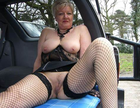 Bystander My Aunty In The Dogging Adorable Uk Gilf Granny