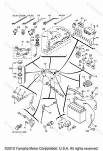 Yamaha Atv 2010 Oem Parts Diagram For Electrical