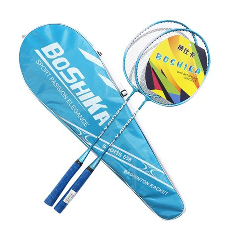 foto de Beginner Players Player Badminton Racquets Set Double