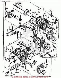 Yamaha Xv500 Virago 1983  D  Usa Carburetor