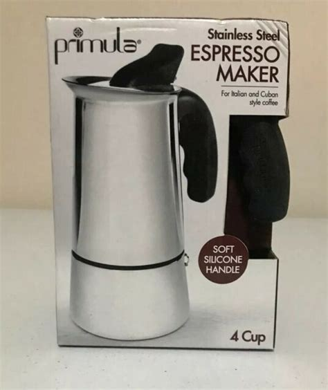 Check out our stovetop coffee pot selection for the very best in unique or custom, handmade pieces from our kitchen décor shops. Primula Stainless Steel 4-Cup Stovetop Espresso Coffee Maker for sale online   eBay