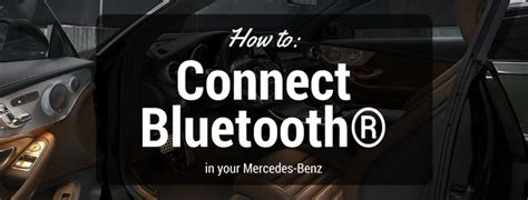You can select your cell phone on the left side of the website. How to connect Bluetooth® in your Mercedes-Benz