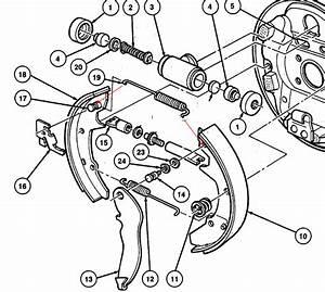 2003 Ford Taurus Rear Drum Brakes Diagram