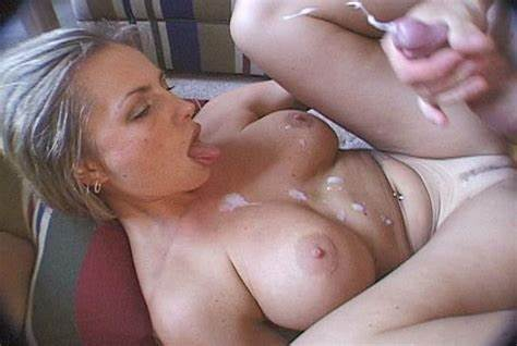 Messy Slut Shows Her Enormous Breasted