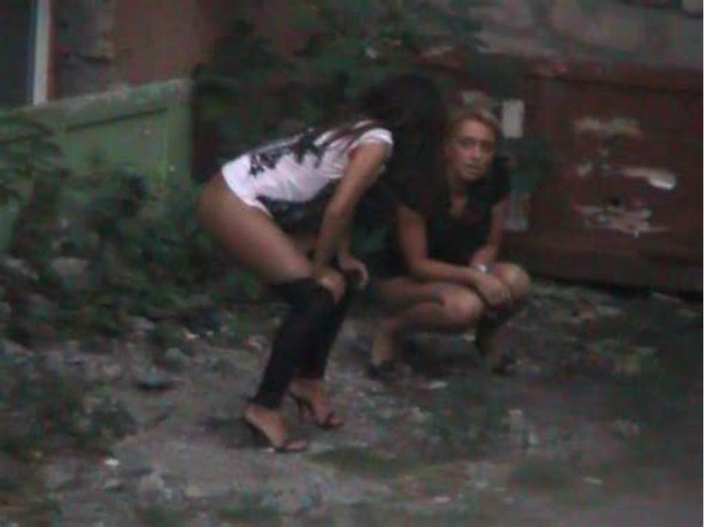 #Hidden #Peeing #Cam #Shooting #Two #Girls #Pissing #In #The #Yard