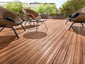 Lame De Bois Pour Terrasse : choisir une terrasse en bois castorama ~ Melissatoandfro.com Idées de Décoration