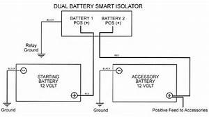Xf 5158  Dual Battery Isolator Wiring Diagram As Well