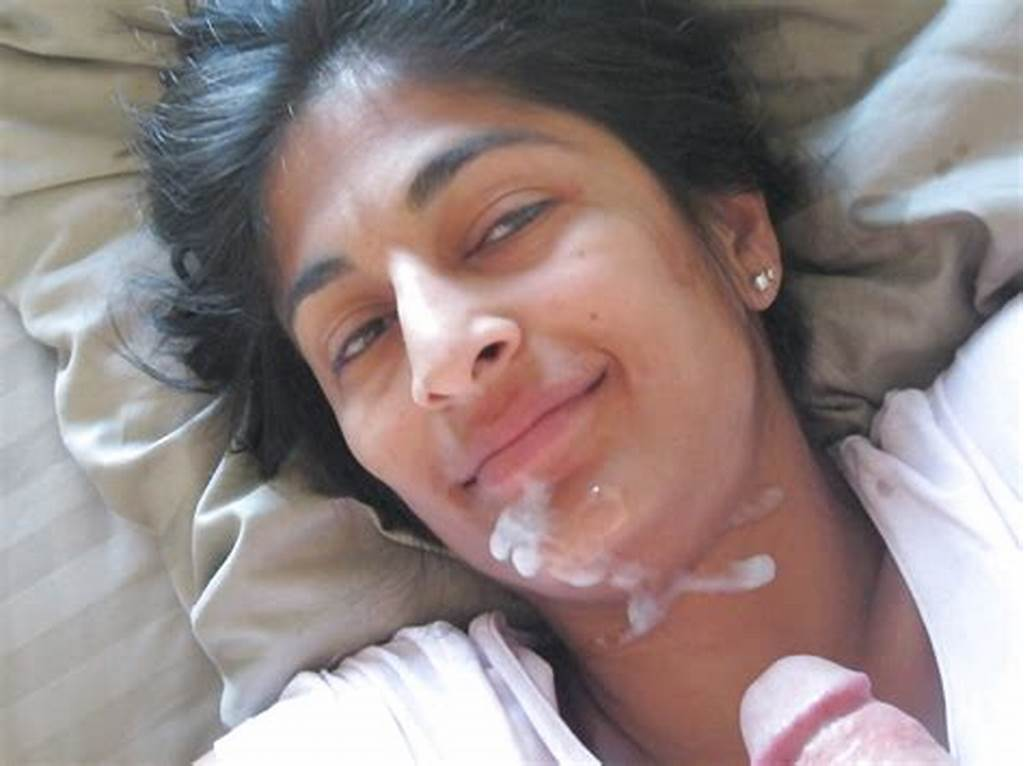 #Indian #Girl #Cum #Facial