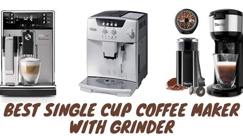 Blade grinders are relatively cheap, easier to if you want a quick cup of coffee with a semblance of a gourmet touch, a single cup coffee maker with grinder can be the right pick. 6 Best Single Cup Coffee Maker With Grinder in 2020 | My Coffee Valley