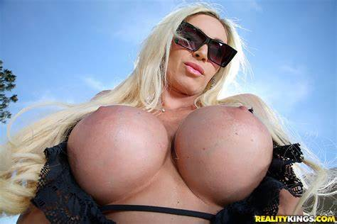 Blond Gal With Monster Nipple