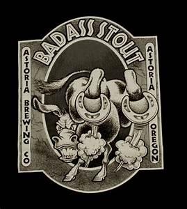 Bad Stout T Shirt Astoria Brewing Company