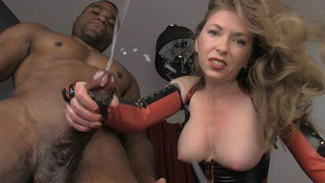 Boy Made To Strokes Alpha Males Boots In Front Of Mistresses