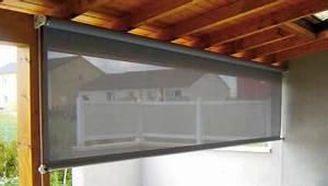 Rideau Pour Balcon : stunning rideaux pour terrasse couverte photos amazing ~ Premium-room.com Idées de Décoration