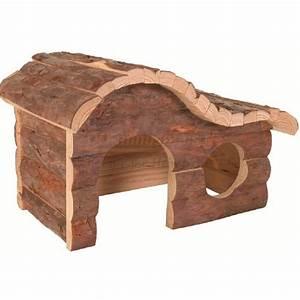 Holzhaus Für Kleintiere : holzhaus mit naturrinde und wellendach 43 b x 22 h x 28 ~ Lizthompson.info Haus und Dekorationen