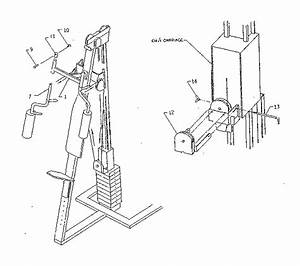 Marcy Em  1 Weight System Parts