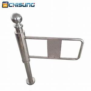 Manual Swing Gate Turnstile For Entrance Control