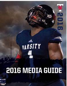 2016 University Of Toronto Varsity Blues Football Media