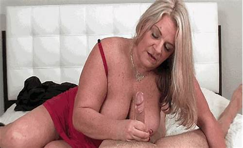 She Gives A Spunky Gently Blow Job Before Her Deepthroat #Blonde #Milf #Milking #A #Big