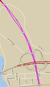Map Of The Commodore Barry Bridge Approach  Us 322