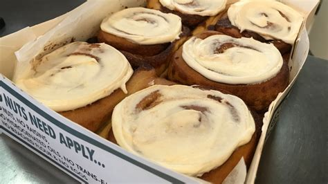 Our cinnamon rolls are our specialty. Bring on the cinnamon buns: Grounds For Coffee's second ...