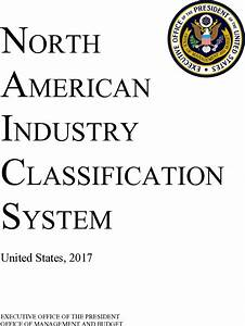 2017 Naics Manual