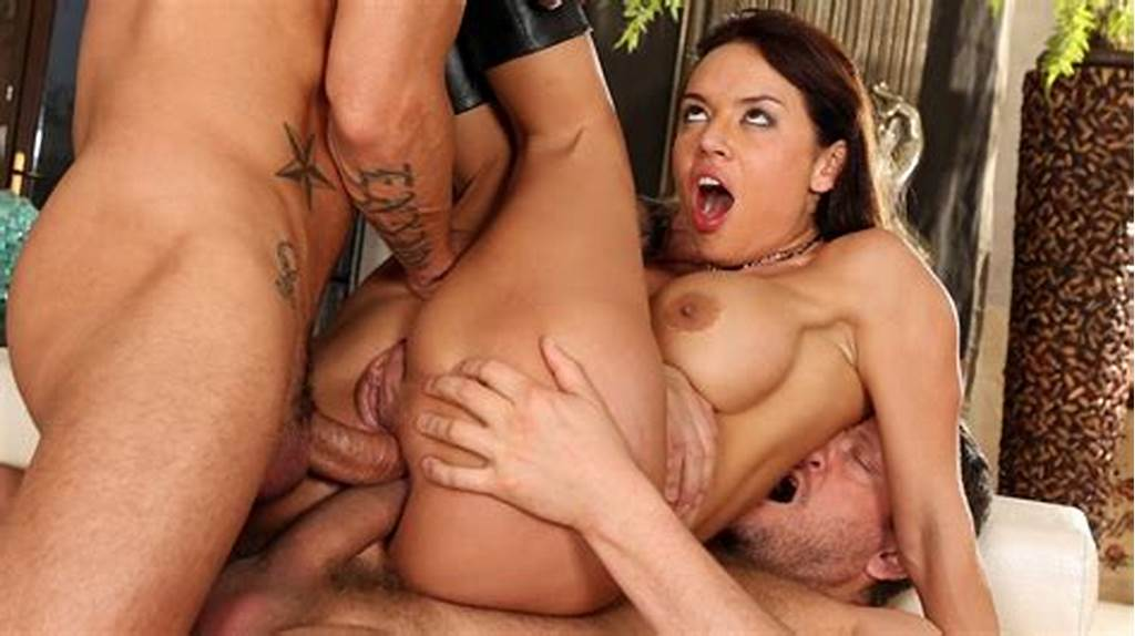 #Franceska #Jaimes #Hardcore #Threesome