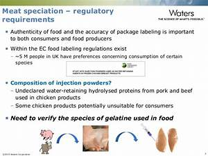 Identification of Meat Species in Processed Foods using ...