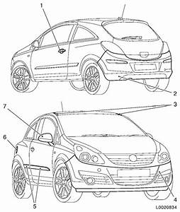 Vauxhall Workshop Manuals  U0026gt  Corsa D  U0026gt  B Paint  U0026gt  Painting